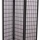 tatami skærm rumdeler traditionel udført med papir på træramme, føres i sort og hvid