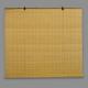 bambus rullegardin tætte lyse med brede pinde