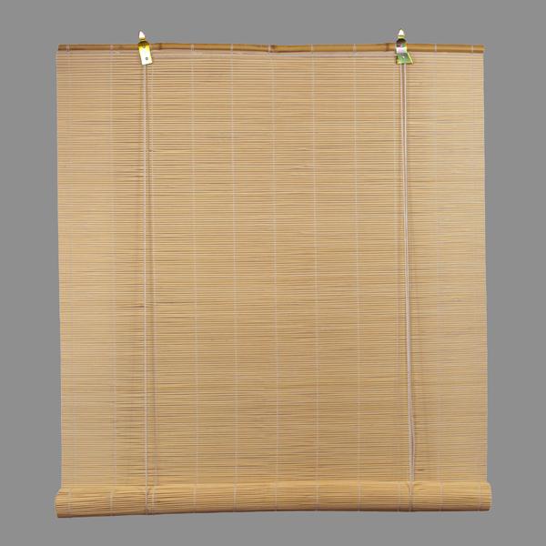 bambus rullegardin lyse