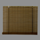 bambus rullegardin mørke, traditionel pindevæv