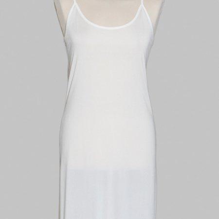 Skøn, kølig og let underkjole i 100% silke, føres i sort og hvid