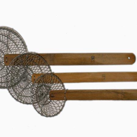 si med bambusskaft til friture
