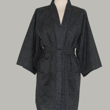 kimono Chidori, kort, udført i 100% bomuld