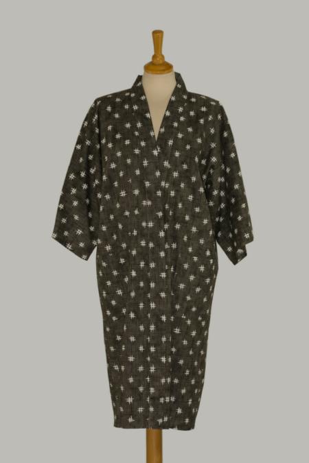 kimono Igeta, 3/4 lang, udført i 100% bomuld