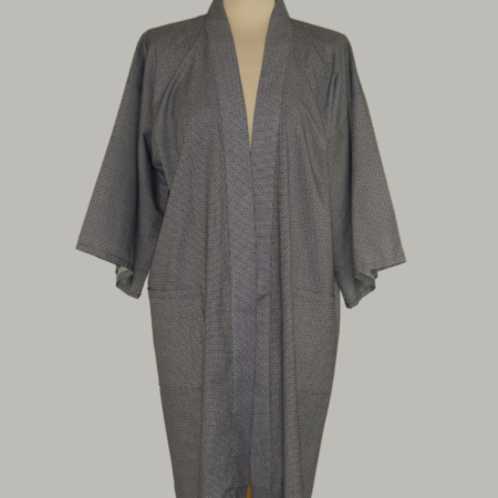kimono Kogara, 3/4 lang, traditionelt mønster i 100% bomuld