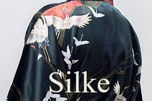 Kimono i 100% silke