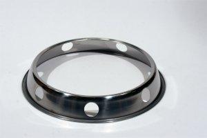 wok ring til gas omslutter blus for bedre varme fordeling