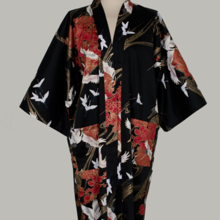 kimono-satin-sort-crane-with-flowers