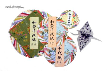 japansk origamipapir håndlavet washi papir med populære japanske mønstre fremstillet i silketryk