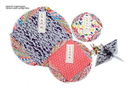 japansk origamipapir