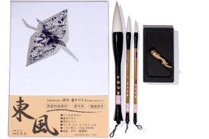Kalligrafi, origami og tegneartikler