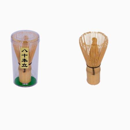 Håndfremstillet piskeris i bambus til matcha te